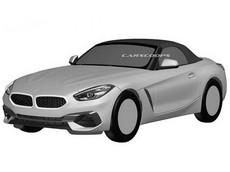 Xe mui trần hạng sang BMW Z4 2019 lộ diện trước ngày ra mắt