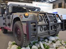NXT 360 - Xe quân sự Humvee thế hệ tiếp theo được ra mắt