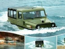 """Amphi-Ranger 1985 - Chiếc SUV vừa off-road khủng lại vừa """"biết bơi"""""""