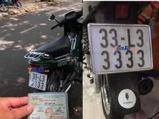 Choáng với thú vui sưu tầm biển trùng số của biker Tiền Giang