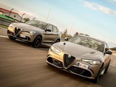 Alfa Romeo hé lộ bộ đôi Guila và Stelvio Quadrifoglio phiên bản đặc biệt NRing