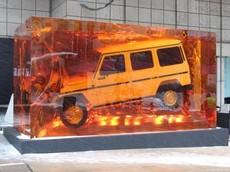 """Đây là cách Mercedes làm nên """"Khối Hổ Phách G-Class"""" nặng 52 tấn"""