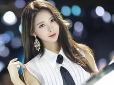 Đốn tim với vẻ đẹp tựa thiên thần tỏa sáng của người mẫu Seo Hanbit