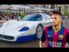 """Bộ sưu tập siêu xe """"khủng"""" của Neymar không thua kém gì Messi hay Ronaldo"""