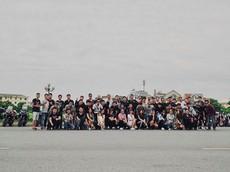 Hàng chục xe Benelli cùng nhau tụ họp ngày cuối tuần