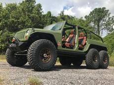 Bruiser Conversions 6×6 - Quái vật 6 bánh đi off-road dựa theo Jeep Wrangler