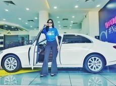 Hoa hậu Huỳnh Tiên tậu xe sang Mercedes-Benz E200 hơn 2 tỷ đồng