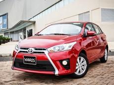 Giá xe Toyota Yaris 2018 mới nhất tháng 7/2018