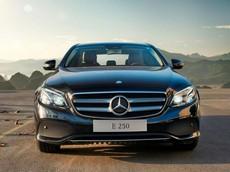 Giá xe Mercedes-Benz E-Class 2018 mới nhất tháng 7/2018