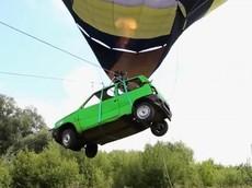 Há mồm với chiếc xe bay đầu tiên trên thế giới của người Nga