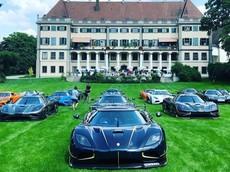 """Xem dàn xe Koenigsegg khắp nơi trên thế giới """"đổ bộ"""" đến Đức"""