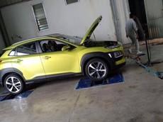 Hyundai Kona 2018 lộ diện trong nhà máy ở Việt Nam, ra mắt vào cuối tháng này hoặc đầu tháng sau