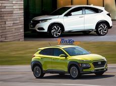 So sánh nhanh Honda HR-V 2018 và Hyundai Kona 2018 sắp ra mắt Việt Nam