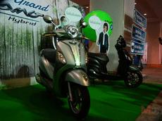 Xe ga tiết kiệm xăng Yamaha Grande Hybrid 2018 chính thức ra mắt với đèn LED và màn hình màu TFT