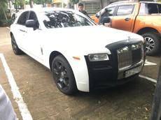 Rolls-Royce Ghost 2 tông màu độc lạ của ông Đặng Lê Nguyên Vũ tái xuất ở Buôn Ma Thuột
