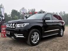 Beijing Auto BJ90 - SUV lắp động cơ chính hãng Mercedes, giá 2,7 tỷ Đồng của Trung Quốc
