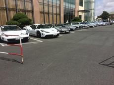 """Dàn siêu xe """"khủng"""" của Chủ tịch Trung Nguyên đã có mặt tại Cần Thơ"""