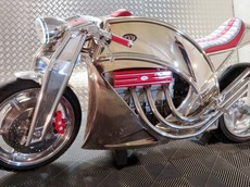 Levis Motorcycles hồi sinh với mẫu Café Racer V6 siêu khủng, đắt hơn cả Porsche 911
