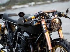 Honda CB750 Cafe Racer : Bản độ nhẹ nhàng, đơn giản đến từ nước Úc