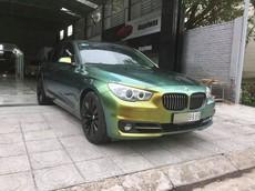 """BMW 528i GT biển cặp đẹp mắt tại Hà Nội thay áo theo phong cách """"tắc kè hoa"""""""