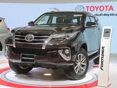 Cập nhật giá xe Toyota Fortuner mới nhất tháng 11/2018