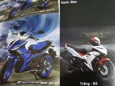 Thiết kế Yamaha Exciter 150 hoàn toàn mới bất ngờ lộ diện