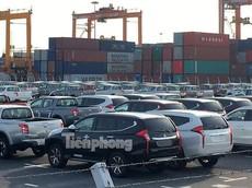 Ô tô miễn thuế nhập khẩu lũ lượt cập cảng Việt Nam chờ ngày lăn bánh