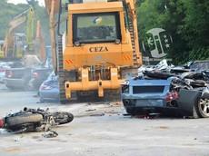 Philippines tiêu huỷ lô siêu xe và xe sang trị giá 130 tỷ đồng