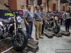 Ducati Scrambler 1100 2018 được bán ra tại Malaysia