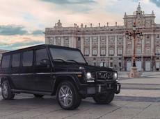 Mercedes-AMG G63 biến thành xe limousine bọc thép chống đạn giá triệu đô