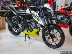 Cận cảnh xe côn tay Suzuki GSX150 Bandit vừa chính thức ra mắt