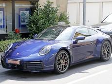 Bắt gặp Porsche 911 2019 trần trụi trên đường phố trước ngày ra mắt