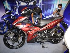 Khám phá bộ áo đỏ nhám trên Yamaha Exciter 150 2019 mới ra mắt Việt Nam