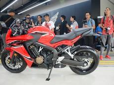 Giá xe Honda CBR650F 2018 tháng 8/2018