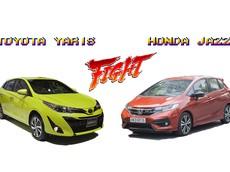 Nên mua Toyota Yaris G 2018 hay Honda Jazz RS 2018 trong tầm giá 650 triệu đồng?