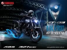 Giá xe Yamaha MT-03 2018 mới nhất tháng 8/2018