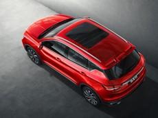 SUV cỡ nhỏ Geely SX11 hé lộ những hình ảnh chính thức đầu tiên