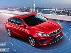 Geely Bin Rui - Sedan cỡ C mới với đủ tính năng an toàn và động cơ tăng áp