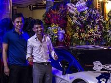 """Minh """"Nhựa"""" cùng siêu xe hàng hiếm Lamborghini Aventador SV tái xuất tại Sài thành"""