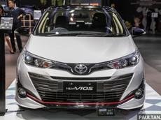 Cận cảnh Toyota Vios 2018 phiên bản thể thao và hầm hố dành cho Đông Nam Á