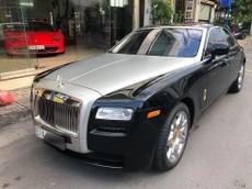 Rolls-Royce Ghost đã qua sử dụng rao bán lại với giá chưa tới 10 tỷ đồng