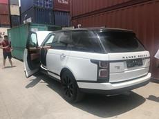 Range Rover Autobiography 2018 sử dụng động cơ lai đầu tiên cập bến Việt Nam