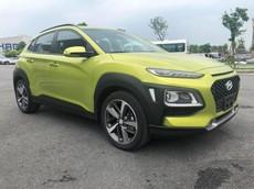 Hyundai Kona 2018 lộ ảnh thực tế và thông số trước ngày ra mắt