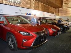 Cận cảnh dàn xe trưng bày của các hãng tham dự triển lãm ô tô Việt Nam 2018
