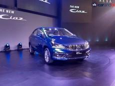 Suzuki Ciaz 2018 chính thức ra mắt với giá hấp dẫn nhằm đối đầu Honda City