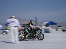 Kawasaki Ninja H2 lập kỷ lục thế giới về tốc độ, tối đa 340,571 km/h