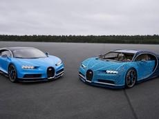 Bugatti Chiron phiên bản Lego tỉ lệ 1:1 có thể chạy như thật với vận tốc 20 km/h