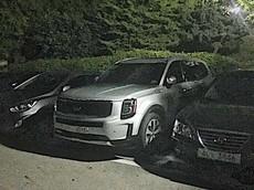 SUV cỡ lớn Kia Telluride 2019 lộ diện ngoài đời thực, chuẩn bị cạnh tranh Toyota Highlander