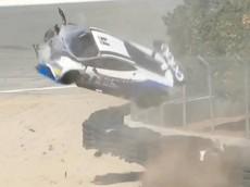 Thêm một vụ tai nạn kinh hoàng của siêu xe đua Lamborghini Huracan Super Trofeo