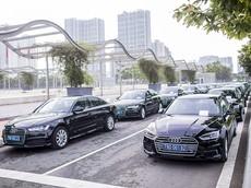Dàn xe Audi được sử dụng tại Diễn đàn Kinh tế Thế giới WEF 2018